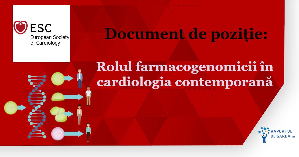 Faramcogenomica, document ESC