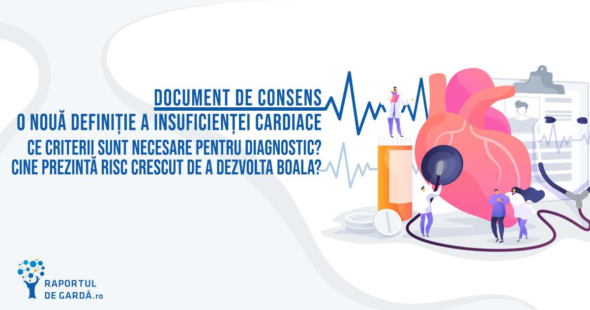 Document de consens 2021 - o definiție și clasificare comprehensive a insuficienței cardiace