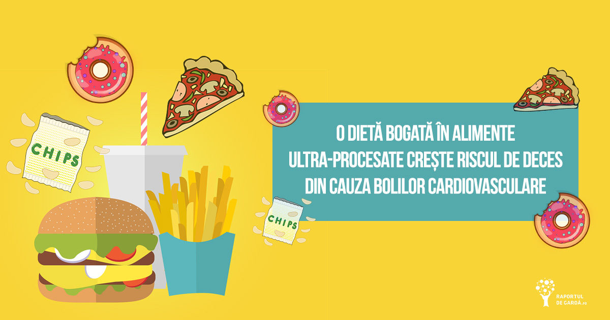 Dietă bogată în alimente ultra-procesate