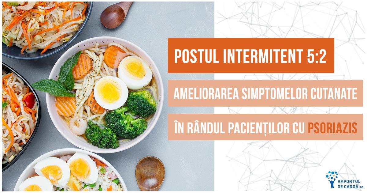 Postul intermitent poate reduce semnificativ manifestarile cutanate ale psoriazisului