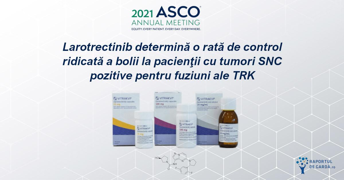 Larotrectinib ASCO 2021