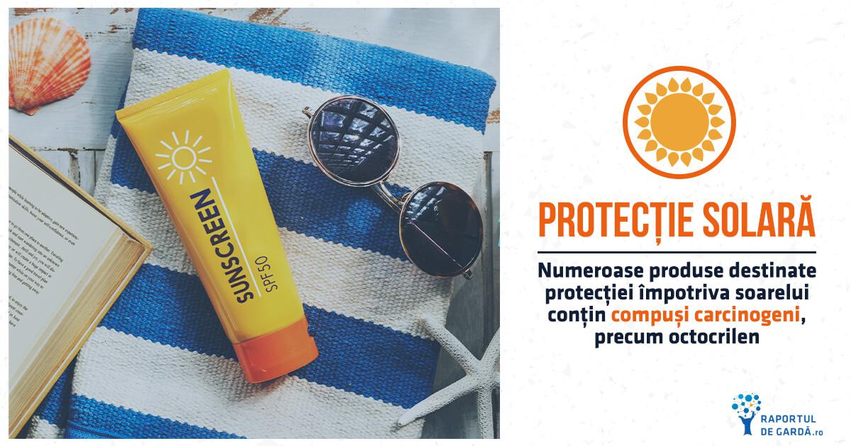 Numeroase produse de protecție solară conțin compuși cancerigeni