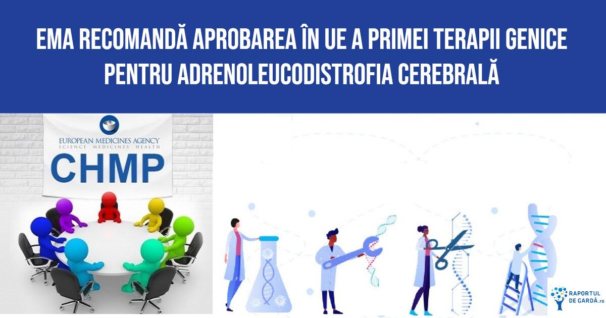 EMA CHMP skysona adrenoleucodistrofia cerebrala terapie genica