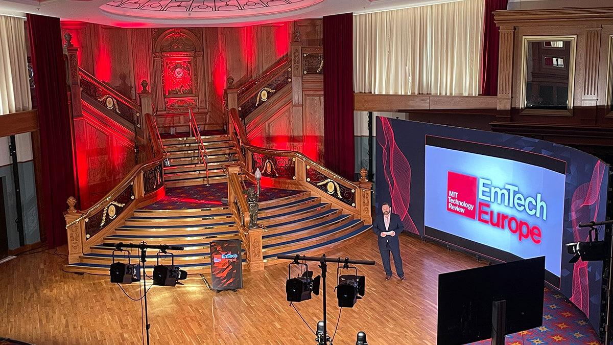 EmTech Europe 2021 Belfast