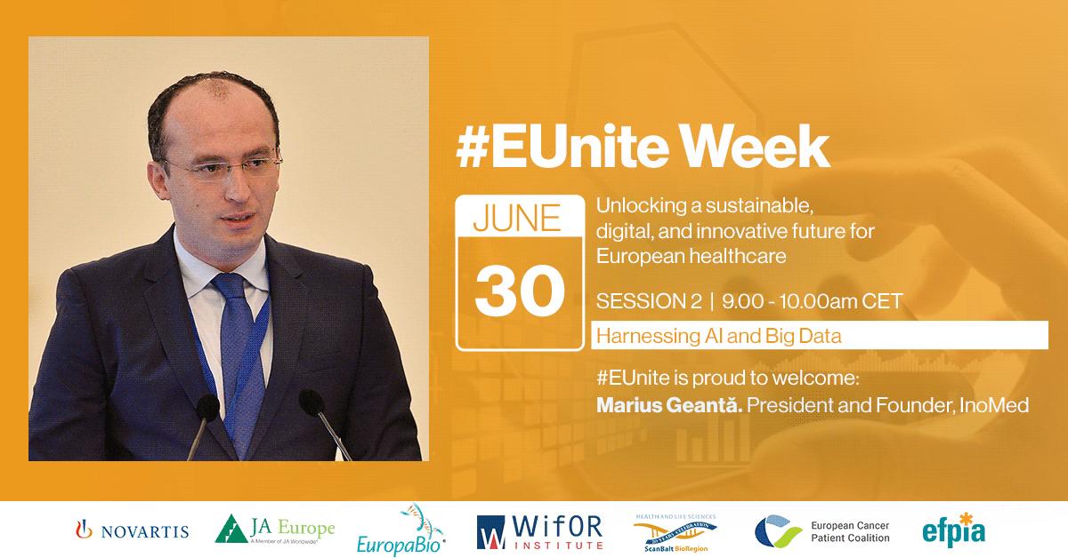 #EUnite Week - Dr. Marius Geantă