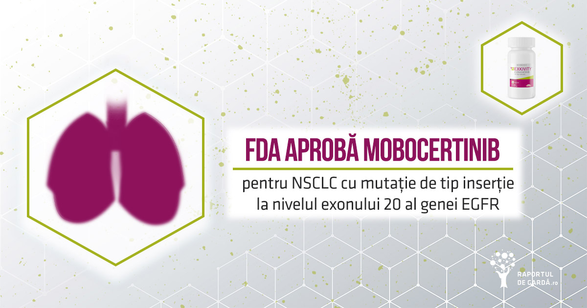 FDA aprobă mobocertinib