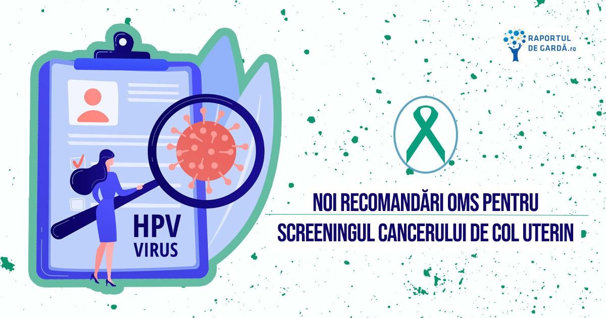 Recomandări OMS testare HPV