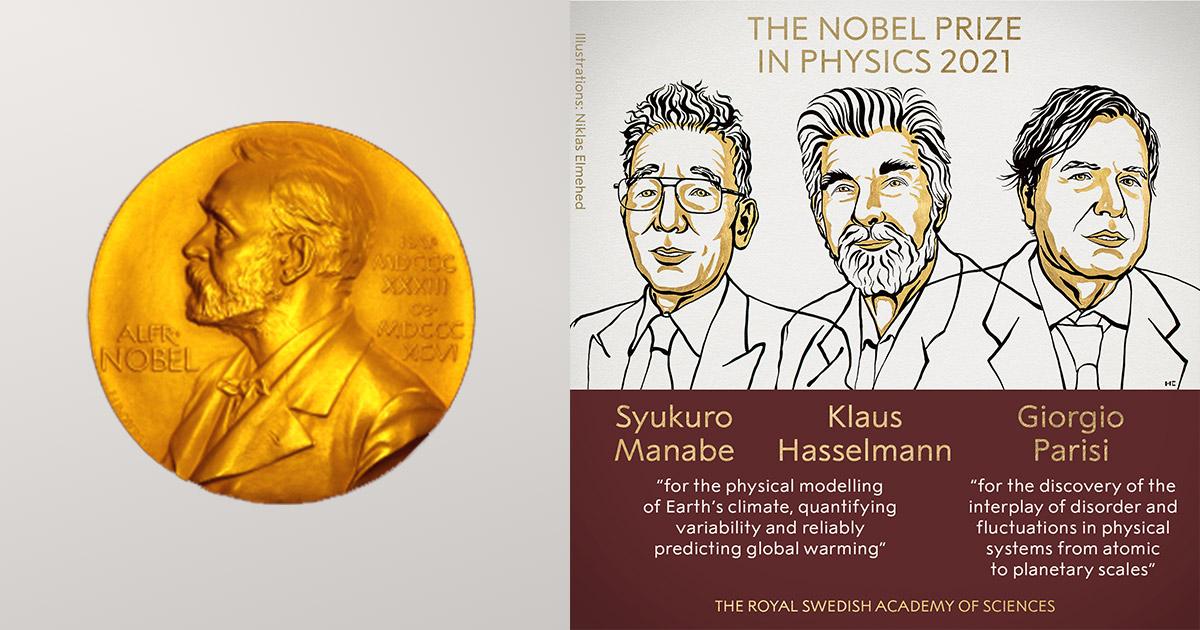 Syukuro Manabe, Klaus Hasselmann, Giorgio Parisi