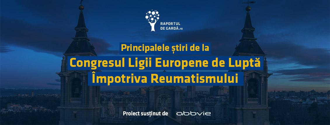 Banner Congres Liga Europeana Lupta Impotriva Reumatism MAdrid 2019